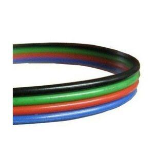 LED21 Kabel pro LED pásek RGB, plochá čtyřlinka 4x0,35mm